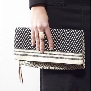 TribeAlive Foldover Clutch - reversible